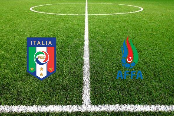 Италия – Азербайджан. Отборочный матч к ЕВРО-2016
