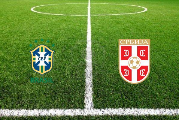 Бразилия – Сербия. Товарищеский матч 2014